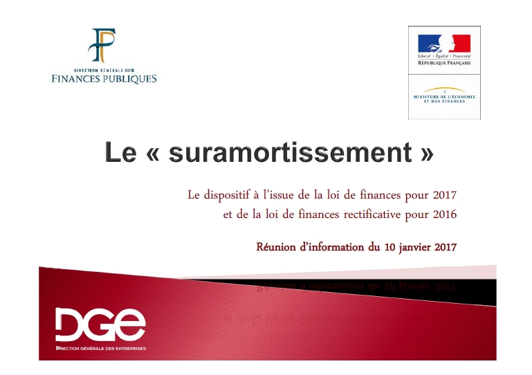 Le suramortissement joue les prolongations!